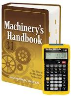 Machinery's Handbook 31st Large Print Edition +  4090 Sheet Metal / HVAC Pro Calc Calculator (Set)
