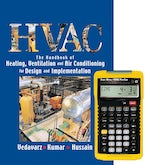 HVAC: The Handbook of Heating, Ventilation and Air Conditioning for Design and Implementation +  4090 Sheet Metal / HVAC Pro Calc Calculator (Set)