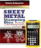 Sheet Metal Stamping Dies: Die Design and Die Making Practice + 4090 Sheet Metal / HVAC Pro Calc Calculator (Set)