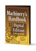 Machinery's Handbook 31 Digital Edition Upgrade